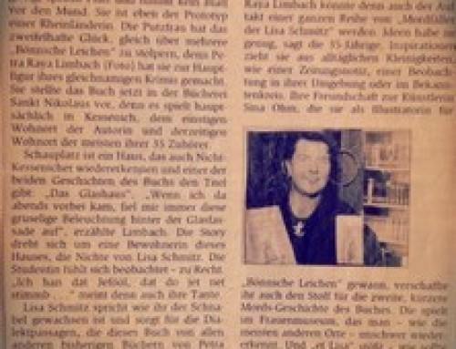Presse: BÖNNSCHE LEICHEN